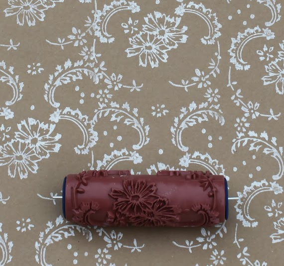 The Ragged Wren How To Patterned Paint Roller