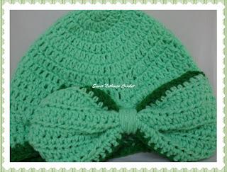crochet turban, crochet cap