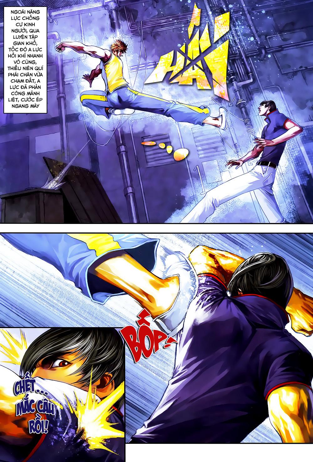 Quyền Đạo chapter 4 trang 22