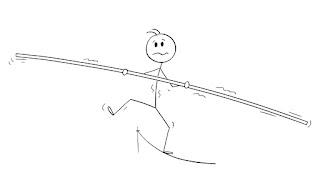 tightrope center gravity