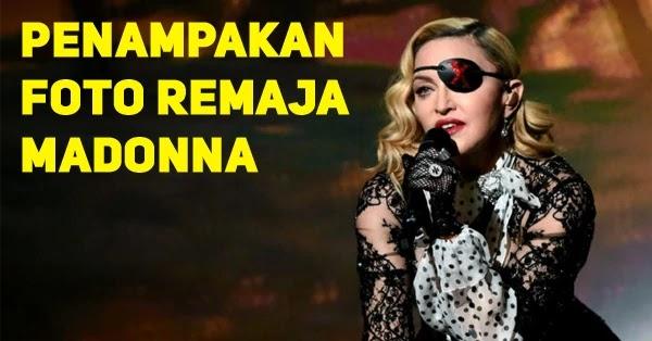 Cantiknya Foto Madonna Saat Remaja Yang Belum Dipublis