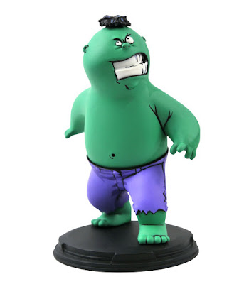 Hulk Animated Marvel Mini Statue by Skottie Young x Gentle Giant x Diamond Select Toys