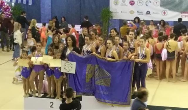 Μετάλλια και διακρίσεις στα Τρίκαλα για την ομάδα Αισθητικής Γυμναστικής του Διαγόρα Άργους
