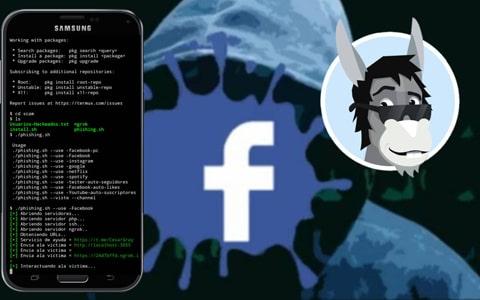 hackear facebook con termux