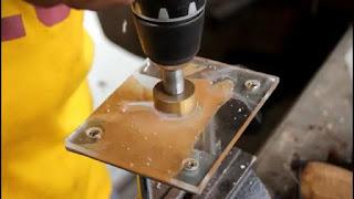 mesin profil yang dibuat dari mesin gerinda