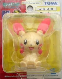 Plusle Tomy Data Carrier Pokemon Figure