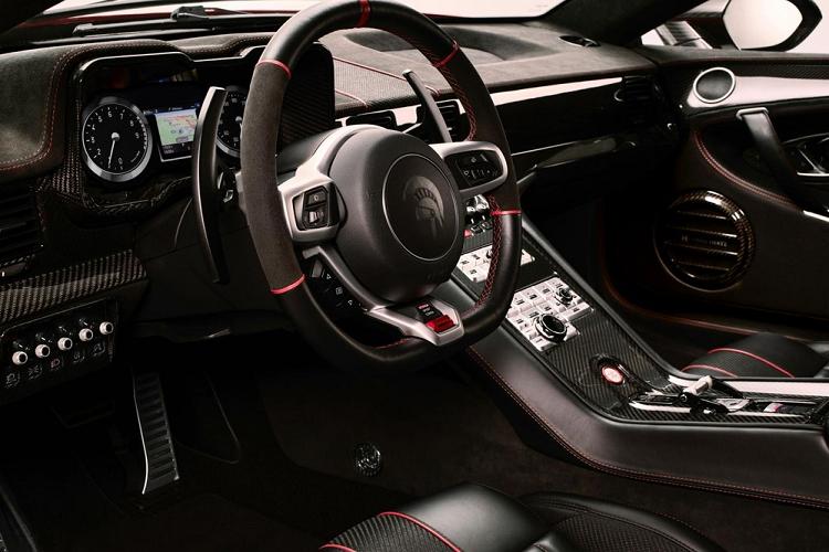 Siêu xe Panther ProgettoUno hơn 16 tỷ đồng lộ diện