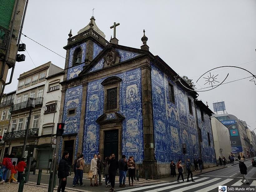 Capela das Almas - O que fazer no Porto, Portugal