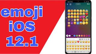 تحويل إيموجي الاندرويد الي آيفون iOS 12.1