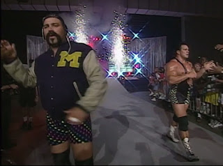 WCW The Great American Bash 1996 - The Steiner Brothers faced Fire & Ice in the opening match