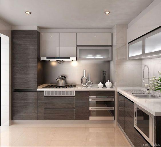 20 Ide Desain Kitchen Set Minimalis Bentuk L