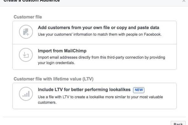 How to create a customer list Custom Audience