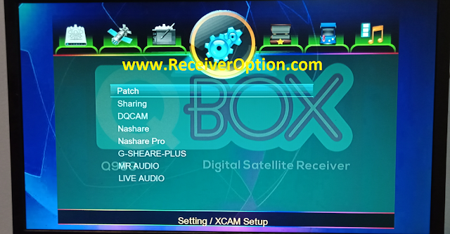 QBOX Q999 1507G 1G 8M NEW SOFTWARE WITH LIVE AUDIO & DIRECT BISS KEY OPTION