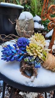 bouquet de la mariée d'hiver d'Ors et de Soie