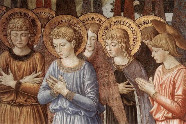 A influencia dos anjos na vida dos homens, o que os anjos da guarda fazem segundo são tomás de aquino