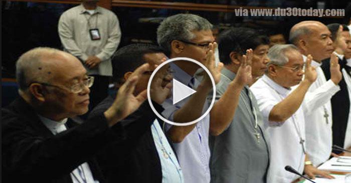 7 million PCSO funds scandal noong 2011, Senate Hearing vs Bishops!