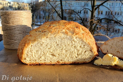 Szybki chleb kubański (pszenny, gotowy w godzinę)