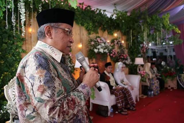 Nasehat KH Said Aqil Siradj pada Pernikahan Cucu KH Maimoen Zubair