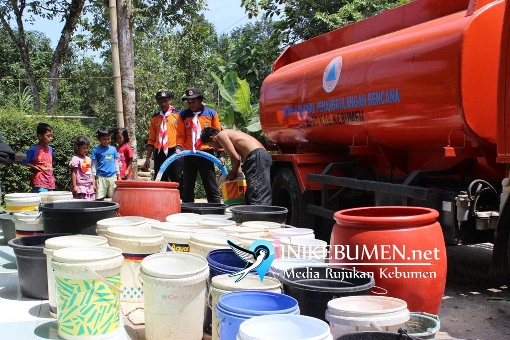Mulai Kemarau, 43.383 Warga Kebumen Terancam Krisis Air Bersih