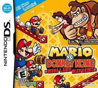 Rom Mario vs. Donkey Kong: ¡Megalío en Minilandia! NDS