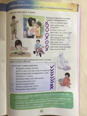 Pertumbuhan dan perkembangan anak usia 3 tahun
