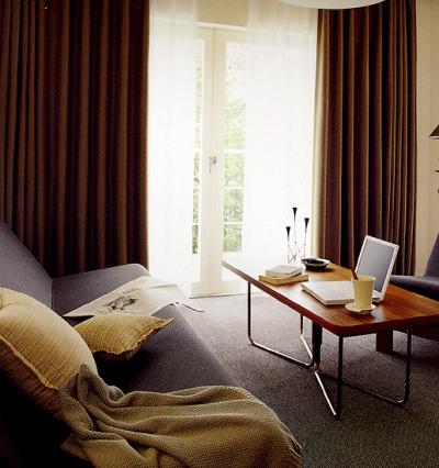 Design interior case apartamente-Perdele draperii living dormitor - PLOIESTI