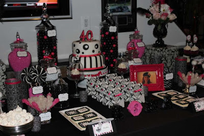 idee decoration table anniversaire adulte