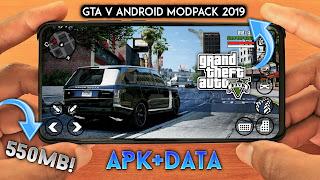 GTA V ANDROID 2019 [550MB] APK+DATA MOD - GTA SA LITE | GTA