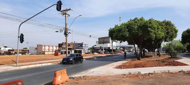 Semáforos entre Ceilândia e Setor O serão ligados na próxima sexta (17)