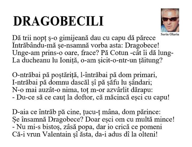 DRAGOBECILI de Sorin Olariu (poezie în grai bănățean) dragobetele poezie amuzanta cristi milla blog personal umor romanesc versuri haioase pe blogger