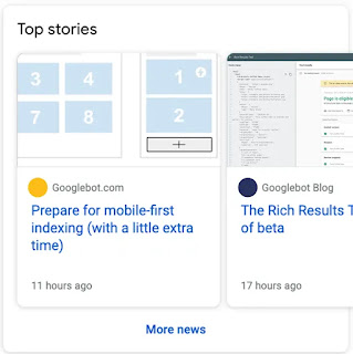 Google Search Gallery : Article