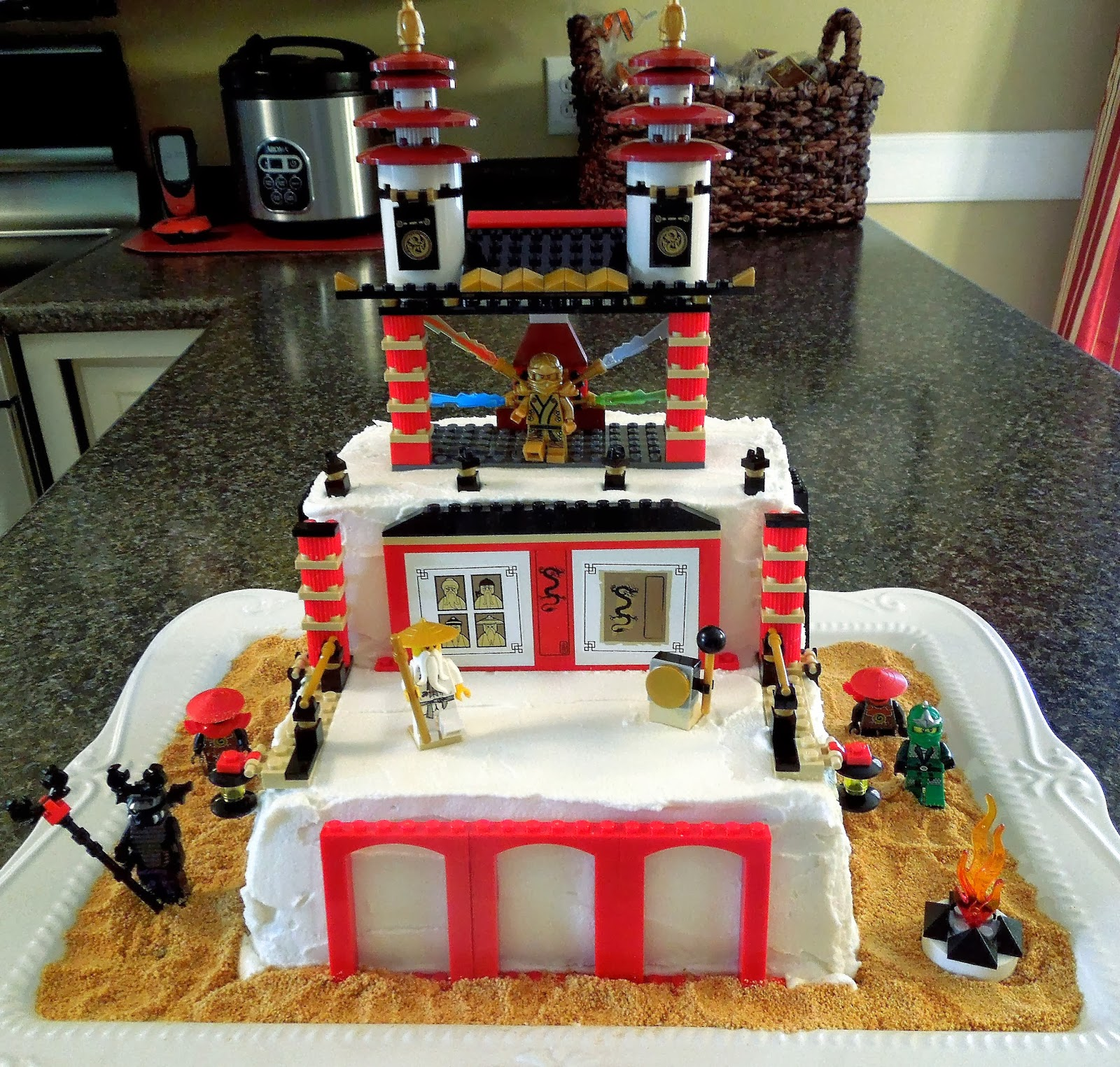 How To Make Lego Ninjago Birthday Cake