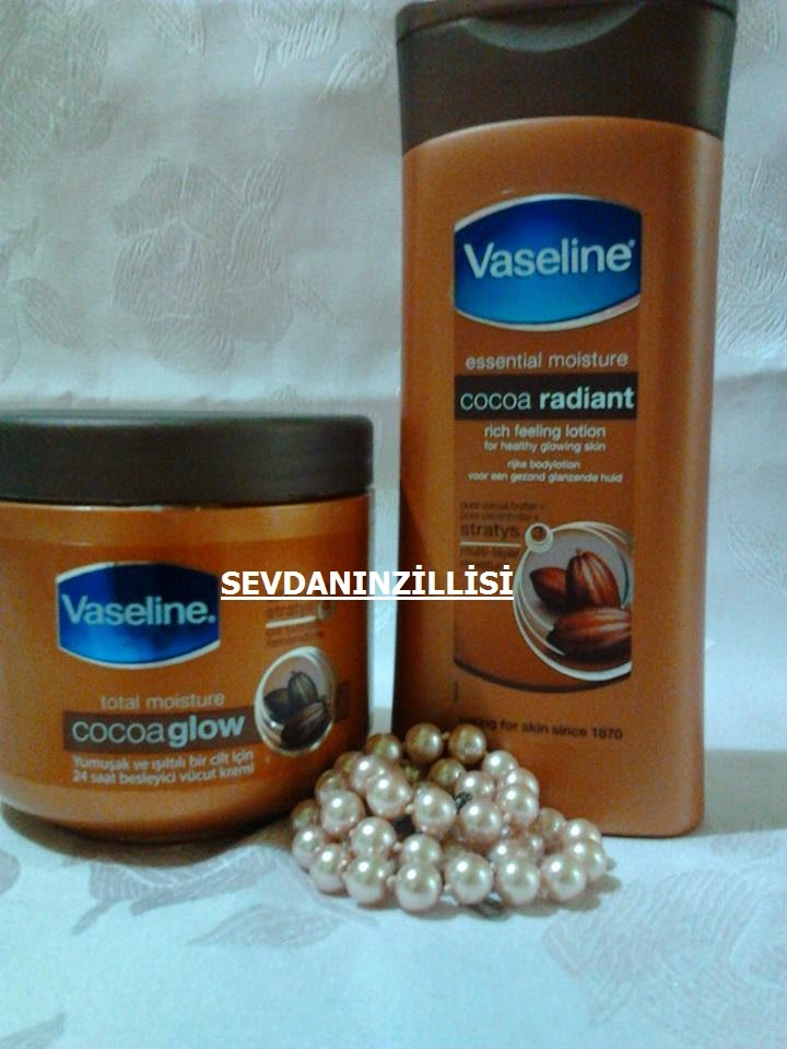 Vaseline Kakao Özlü ( Cocoa Butter )  Vücut Kremi ve Losyonu