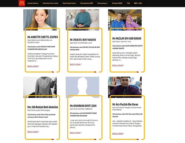 Anugerah Guru Inspirasi McDonald's, Ms Evanna Devi, SK Bandar Utama Damansara 2, Guru Inspirasi, McDonald's Malaysia, Teachers in Malaysia, Lifestyle