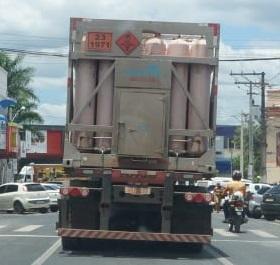 População de Alagoinhas pede restrição à circulação de caminhões de grande porte dentro da cidade