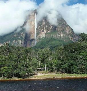Salto Angel, Caida de agua mas alta del mundo. Catarata mas alta del mundo