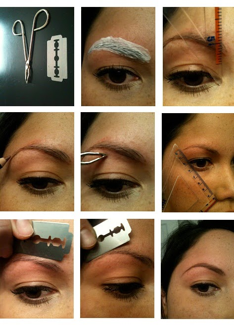 Learn - How To Proper Shape Your Eyebrows [Home Remedy ...