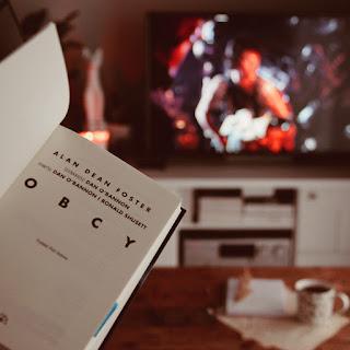 #123 Obcy - Alan Dean Foster  - recenzja - czy warto przeczytać?