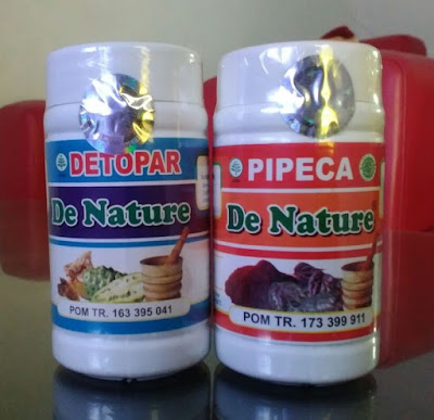 Obat Paru Paru Tradisional Detopar Dan Pipeca Dari De Nature