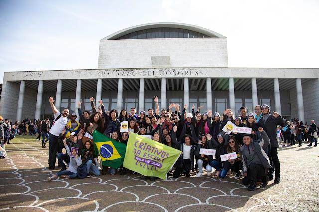 Conferência Global contou com a presença do Papa Francisco e mais de 2 mil estudantes de todo o mundo