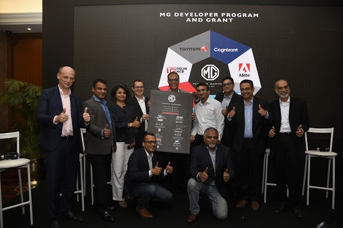 MG Motor India partners with tech giants to launch the MG Developer Program & Grant for Mobility Ecosystem