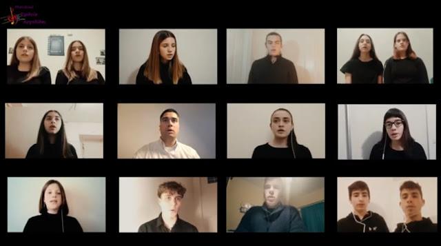 «Ἰδοὺ ὁ Νυμφίος ἔρχεται» από τους μαθητές του Μουσικού Σχολείου Αργολίδας (βίντεο)