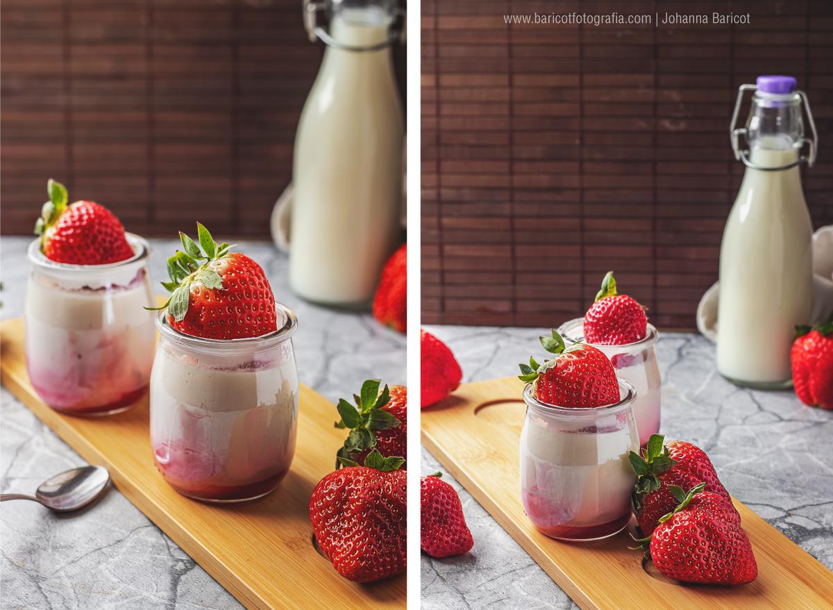 fotografo-profesional-de-alimentos-en-ourense-fotografia-food-styling-galicia-españa-la-lechera-yogures- panna-cota-fresas