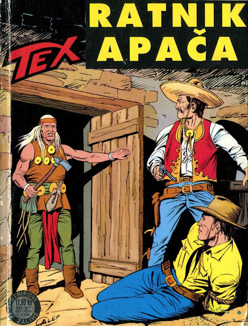 Ratnik Apaca - Tex Willer