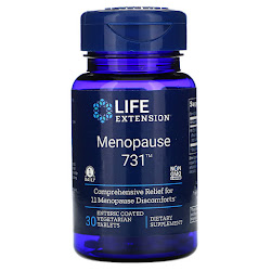 Life Extension, Menopause 731, 30 Enteric Coated Vegetarian Tablets