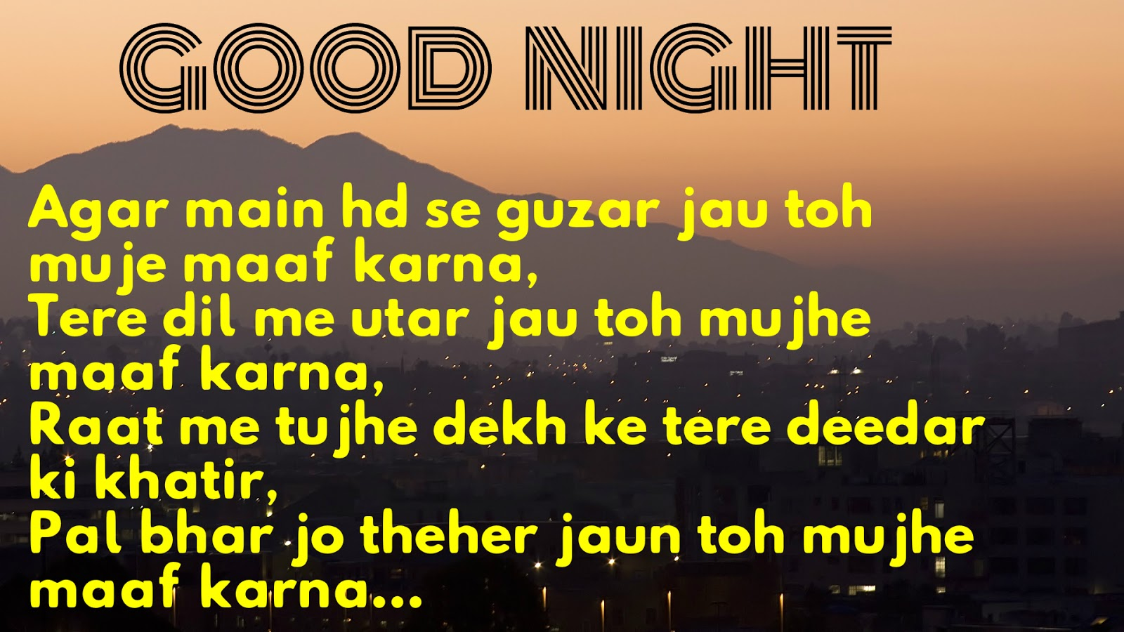 Good Night Sms In Hindi Good Night Hindi Sms Images All Letest