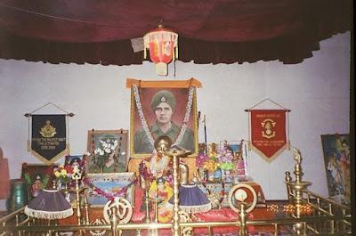 Baba Harbhajan Singh Temple at India China Border