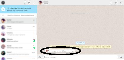 كيف تقوم بقراءة رسائل واتس اب المحدوفة بدون برنامج
