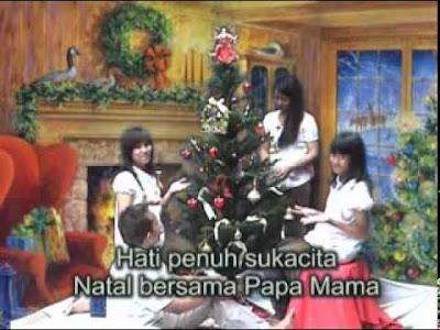 Lagu Selamat Natal Papa dan Mama Mp3