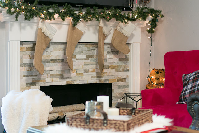 simple christmas decor parlor girl home
